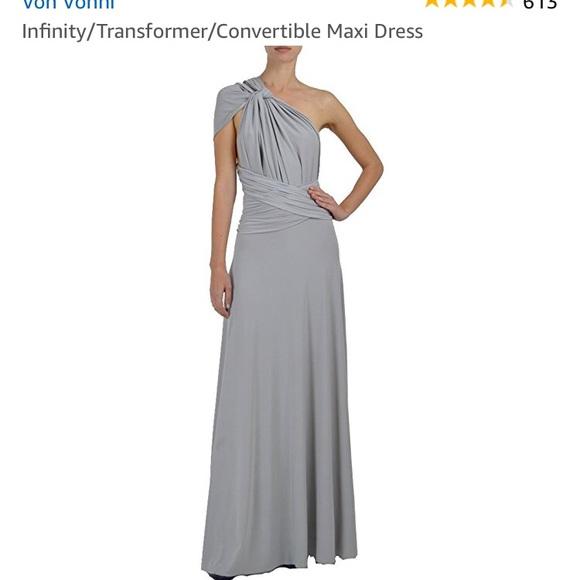 Convertible Infinity Bridesmaid Dress